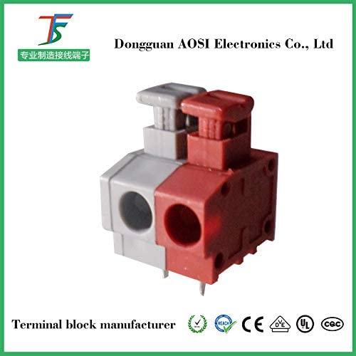 Davitu Terminals - KF235 dg235 fs260 300PCS PCB Spring Terminal Block FS1.5-02-500-06 - (Pins: 2P)