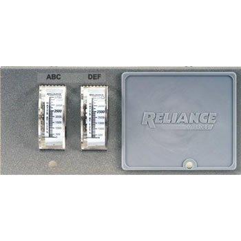 Reliance Controls Pro/Tran Transfer Switch Watt Meter Plate WP7500