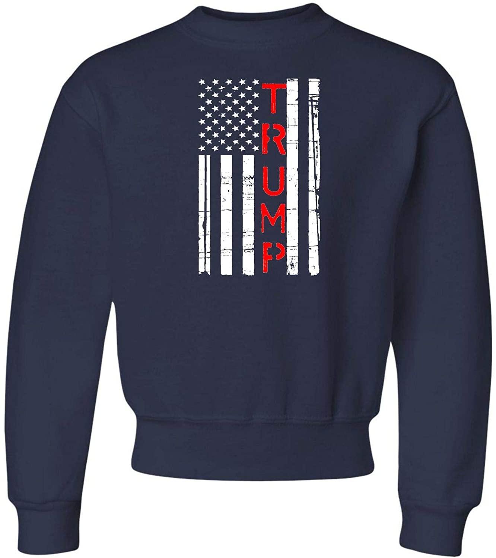 Youth Trump 2020 Re-Elect Donald Trump Crewneck Sweatshirt