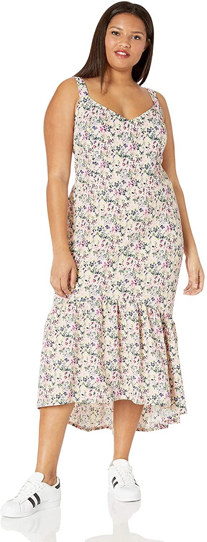 RACHEL Rachel Roy Women's Plus Size Claudette Knit Jacquard Midi Dress