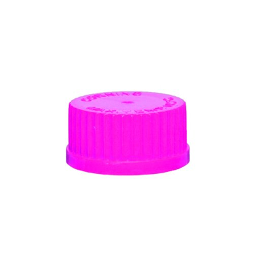 Axygen SCO-P Microcentrifuge Tube Screw Caps With O-Ring for Axygen 0.5, 1.5 or 2mL Tubes, Pink PP (1 Case: 500 Caps/Unit; 8 Units/Case)