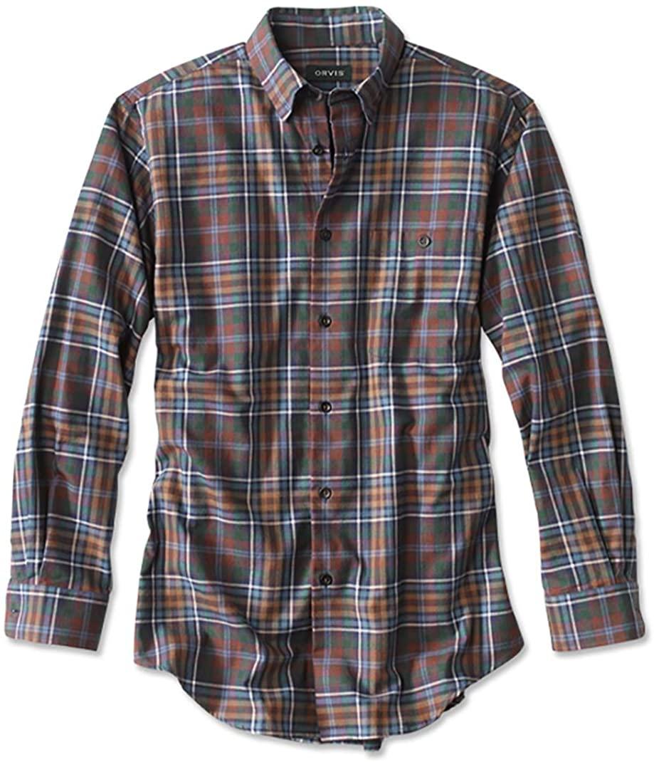 Orvis Battenkill Cotton Blend Long-Sleeved Shirt/Regular