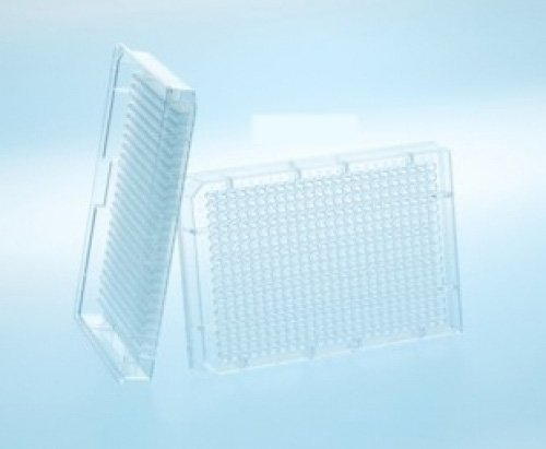 Greiner Bio-One 784209 Black Polypropylene Small Volume Microplate, 384 Well (Pack of 100)