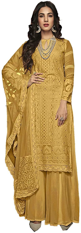 Stylish Ethnic Indian Traditinal Partywear Embroidery Work Salwaar Kameez. ICW2858-13
