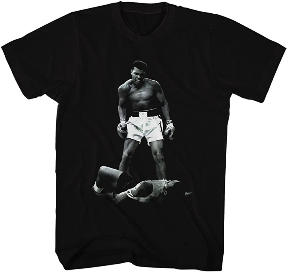 Muhammad Ali Ali Over Liston Adult T-Shirt Tee