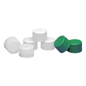 Wheaton Science Products 239512 Natural Polypropylene Caps for Narrow-Mouth Container, 28-410 Cap Size, 2.7