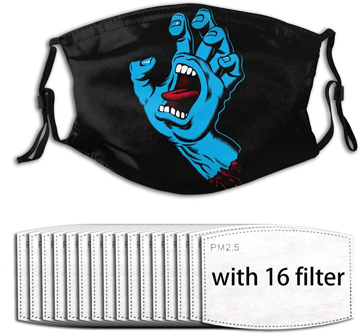 Gutter-mouth Face Cover Anti-Dust Pollution Outdoor Reusable Washable Earloop Cover