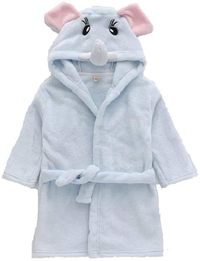 Matissa Children's Robe Dressing Gown Bathrobe Animal Hooded Towel Robe Sleepwear Cosplay Kids Costumes Pajamas