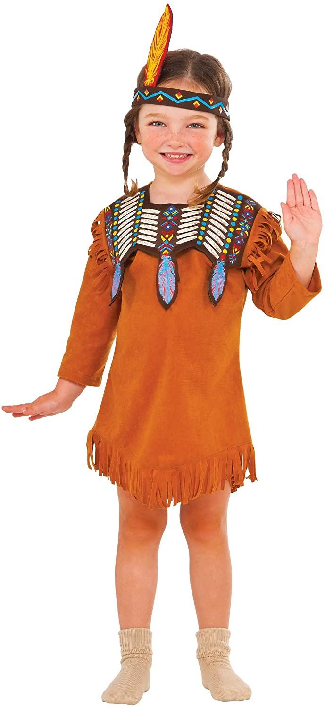 Rubie's Costume Indian Maiden Value Child Costume, Small, Multi-Colored (620850_S)