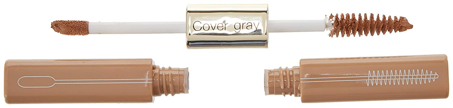 Cover Your Gray 2-in-1 Mascara Wand & Sponge Tip Applicator - Light Brown/Blonde