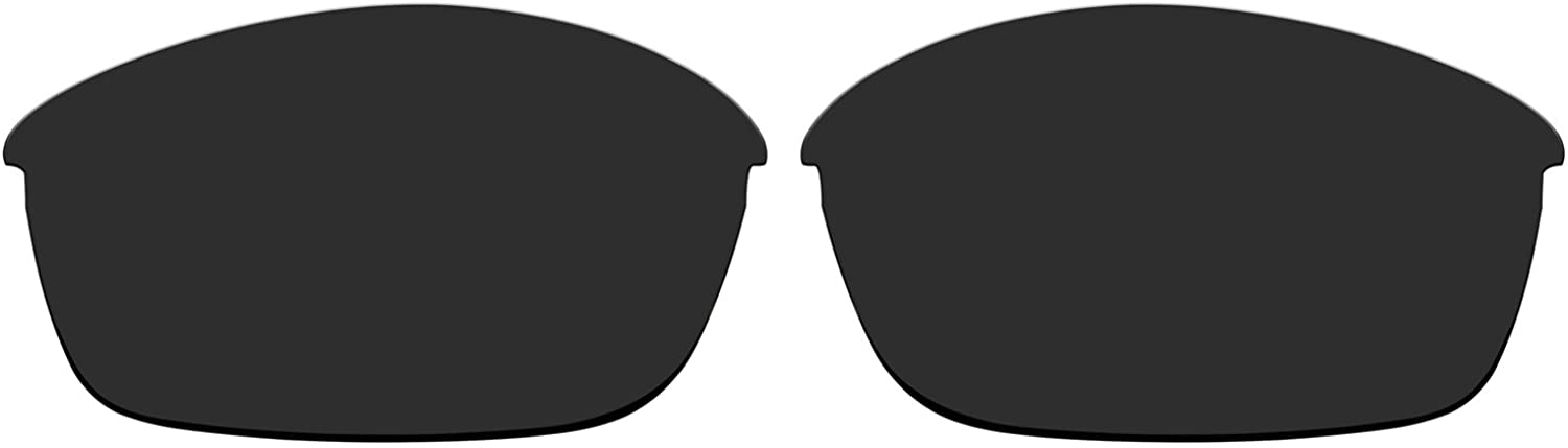 ACOMPATIBLE Replacement Polarized Lenses for Oakley Flak Jacket Sunglasses