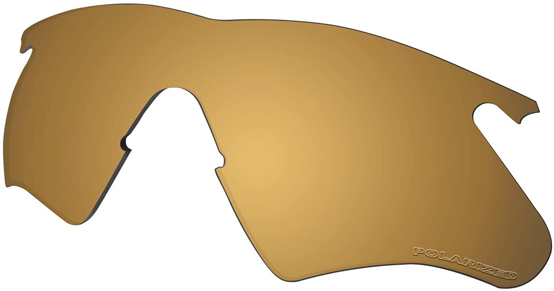 Lenses Replacement for Oakley M Frame Heater Sunglass Polarized - Metallic Bronze Mirror