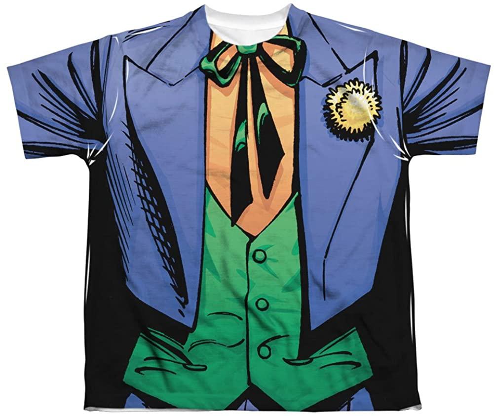 Youth: Batman- Joker Uniform Kids T-Shirt Size YS