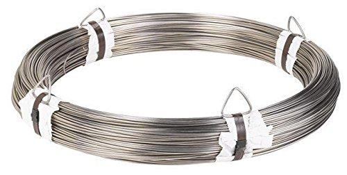 Stainless steel hard wire - 302 - 0.047 inch / 1.2 mm - 167,75 feet / 55 meter - Hard Wire