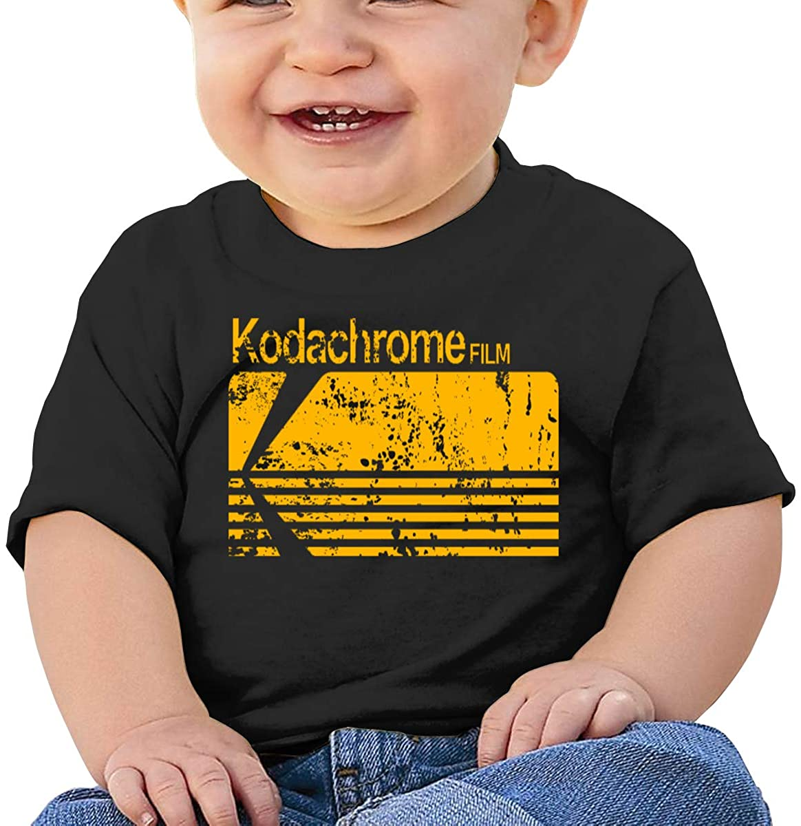 AP.Room Short Sleeve Comfortable Shirt Kodachrome Baby T-Shirt
