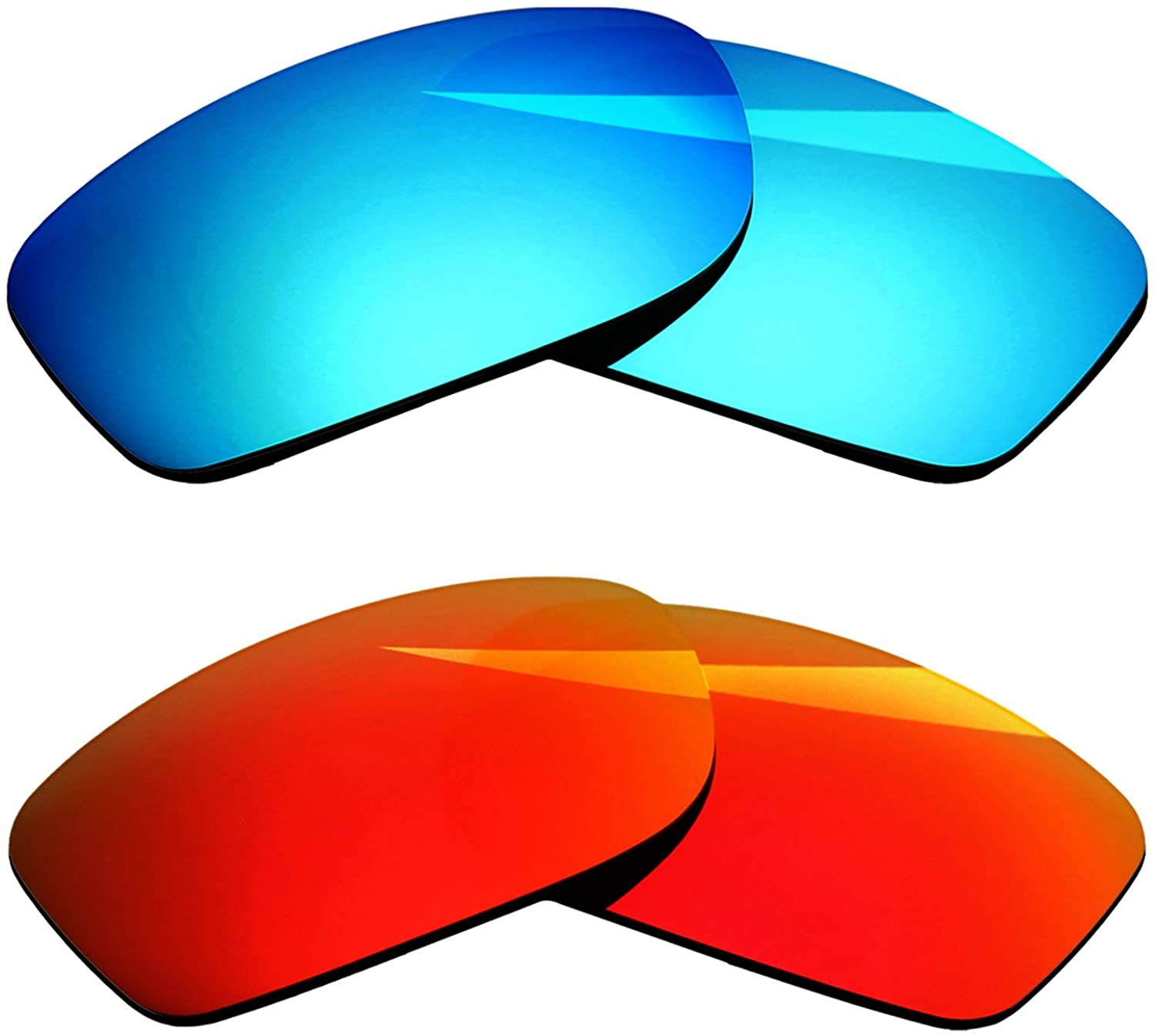 BlazerBuck Polarized Replacement Lenses for Oakley Fives Squared - 2 Pairs