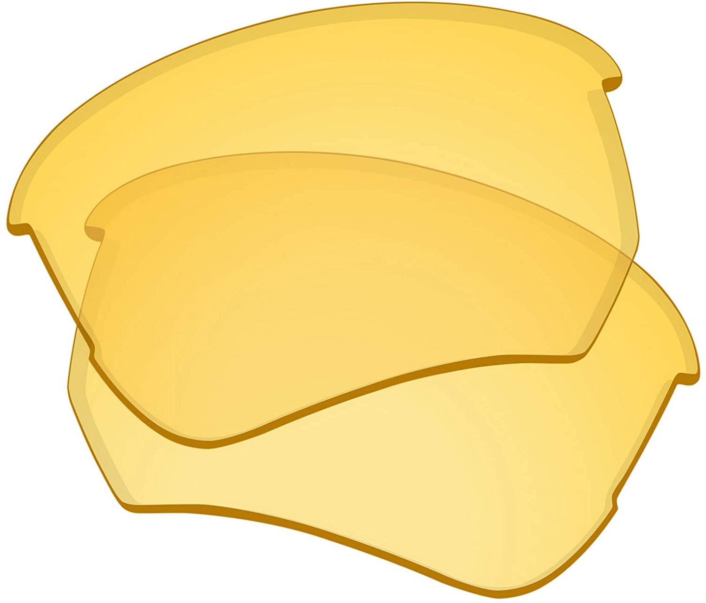 Lenses Replacement for Oakley Flak Beta Sunglass - HD Yellow