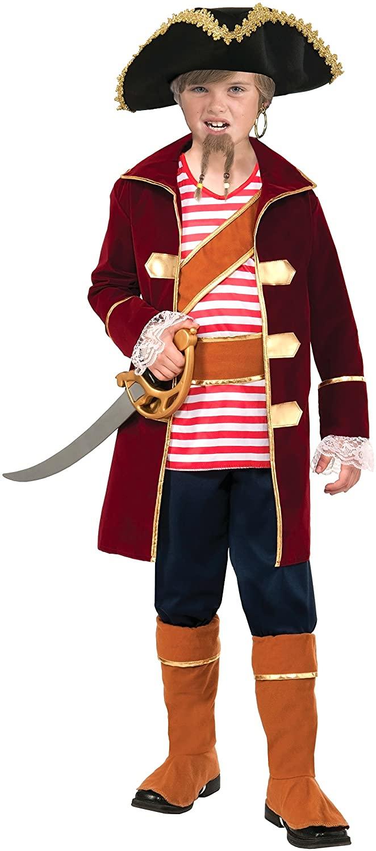 Forum Novelties Pirate Captain Costume, Large