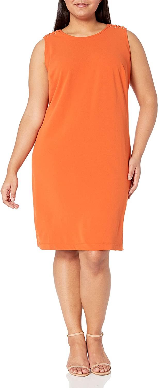 Sharagano Women's Plus Size Sheath Dress