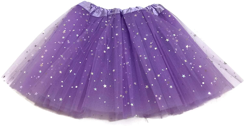Rush Dance Ballerina Girls Dress-Up Sparkling Stars Sequins Costume Recital Tutu