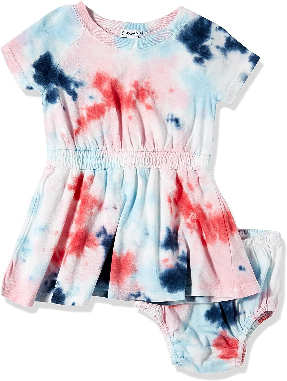 Splendid Baby Girls Kids Short Sleeve Dress