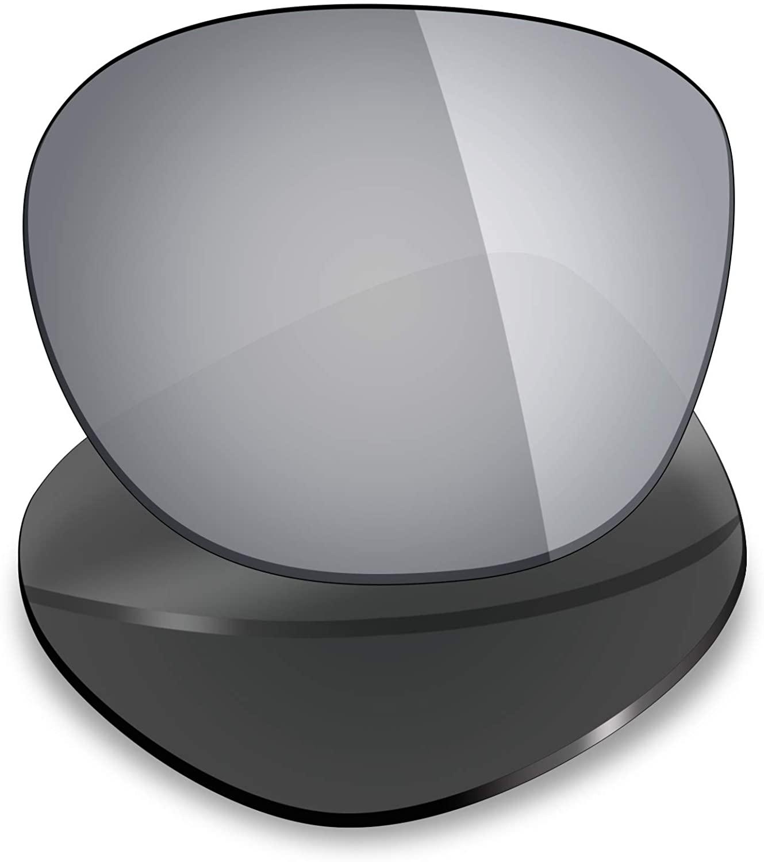 Mryok UV400 Replacement Lenses for Oakley Garage Rock - Silver Titanium