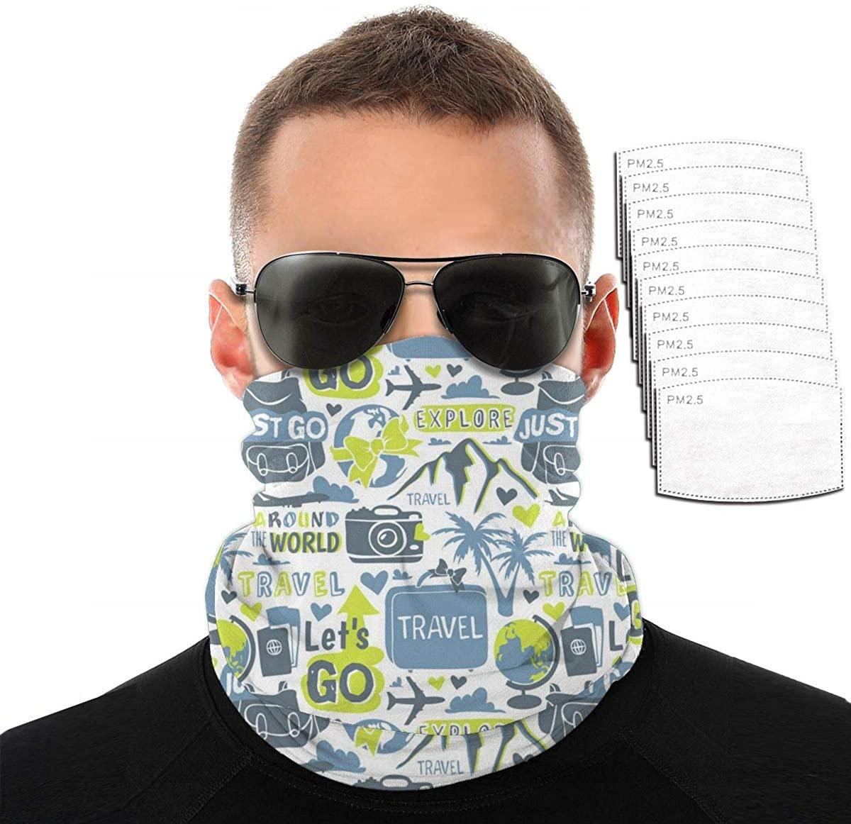 Beth Face Mask Headwear Bandana Balaclavas Dust Wind Sun Protection