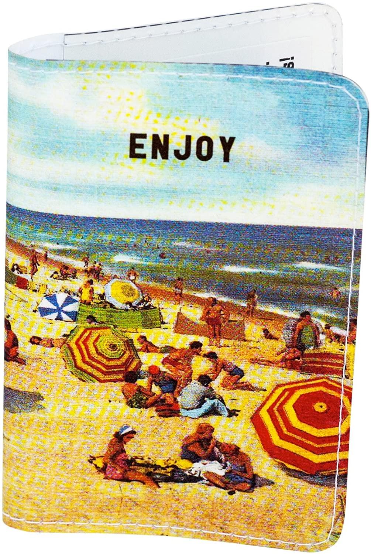 Enjoy the Beach Business, Credit & Id Card Holder