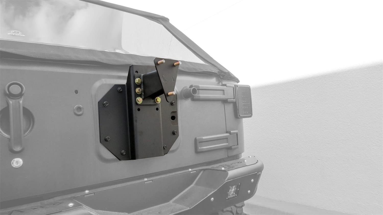 Addictive Desert Designs T95910NA01NA Rear Gate Tire Holder for Jeep JK Wrangler
