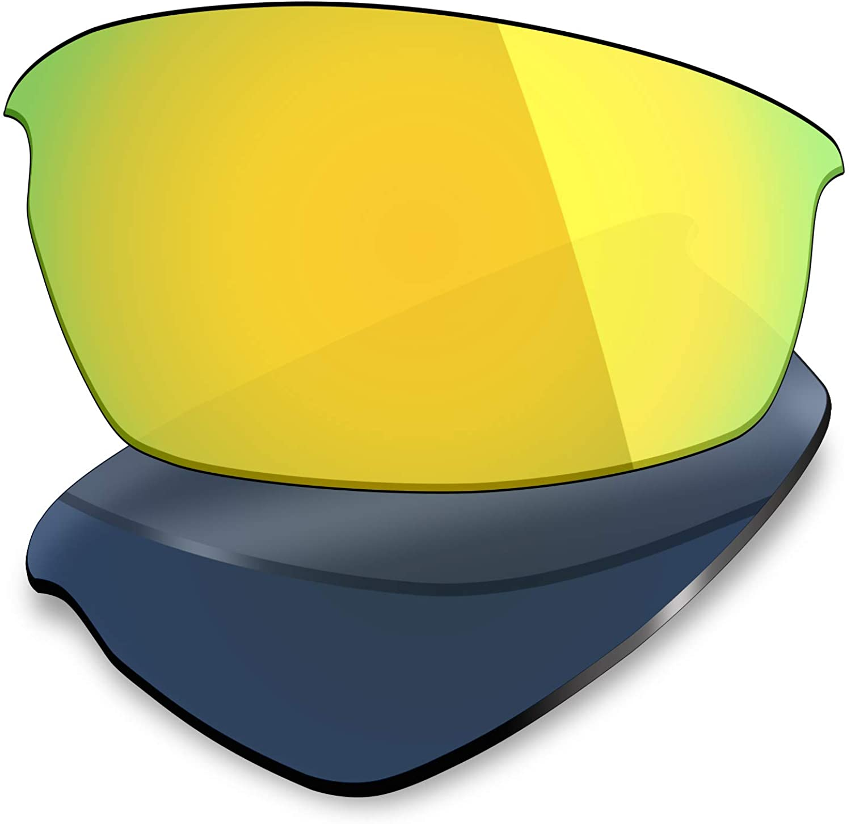 Mryok UV400 Replacement Lenses for Oakley Bottlecap - 24K Gold