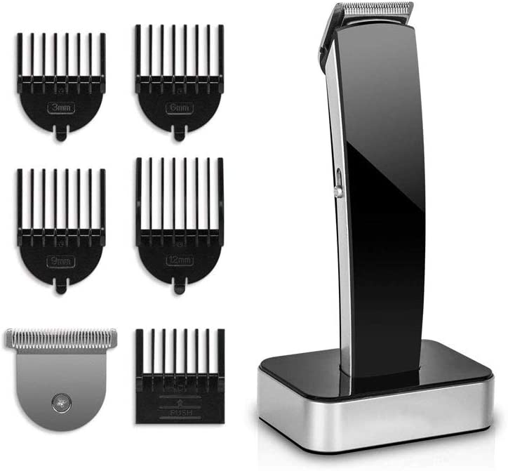 CHENNAO Hair Clippers for Men, Professional Cordless Clippers Kit Electric for Barbers Hair Cutting, Hair and Beard T-Blade Trimmer for Home, Precise Length Settings, Lightweight