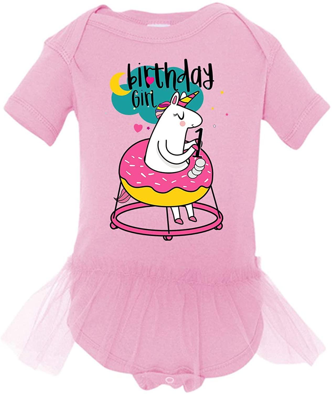 Awkward Styles 1st Birthday Shirt Tutu Skirt Set Cute Baby Girl Unicorn Dress Ballet Outfit
