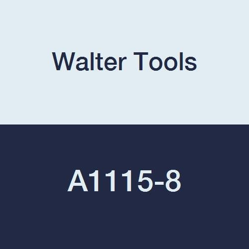 Walter Tools A1115-8 8 mm HSS NC Spot Drill, 4 mm Length of Cut, 30 mm Extension Length, 79 mm Overall Length