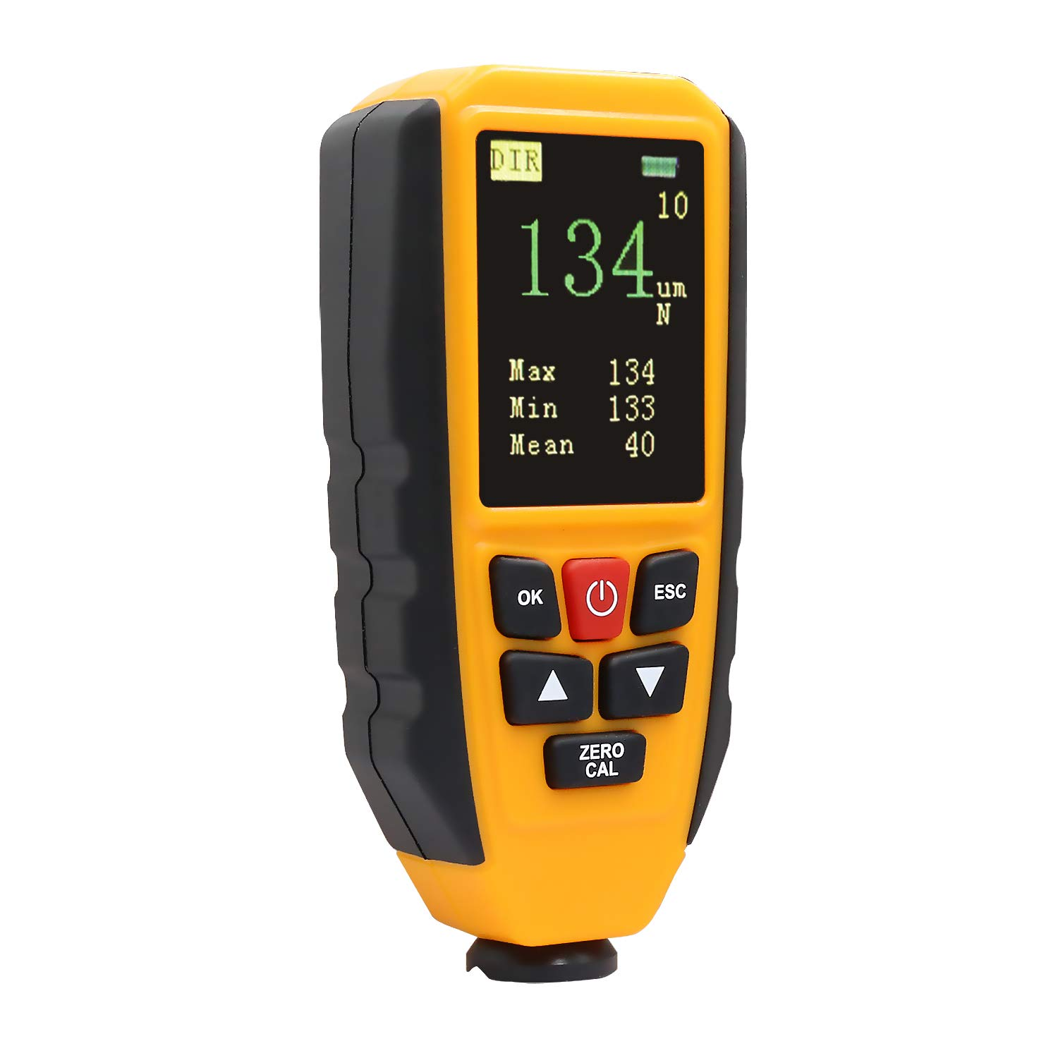 Coating Thickness Gauge Tester with Backlight LCD Color Display, Automatic Recognition of Ferrous and Non-Ferrous Substrates(0~1300um), Hti-Xintai