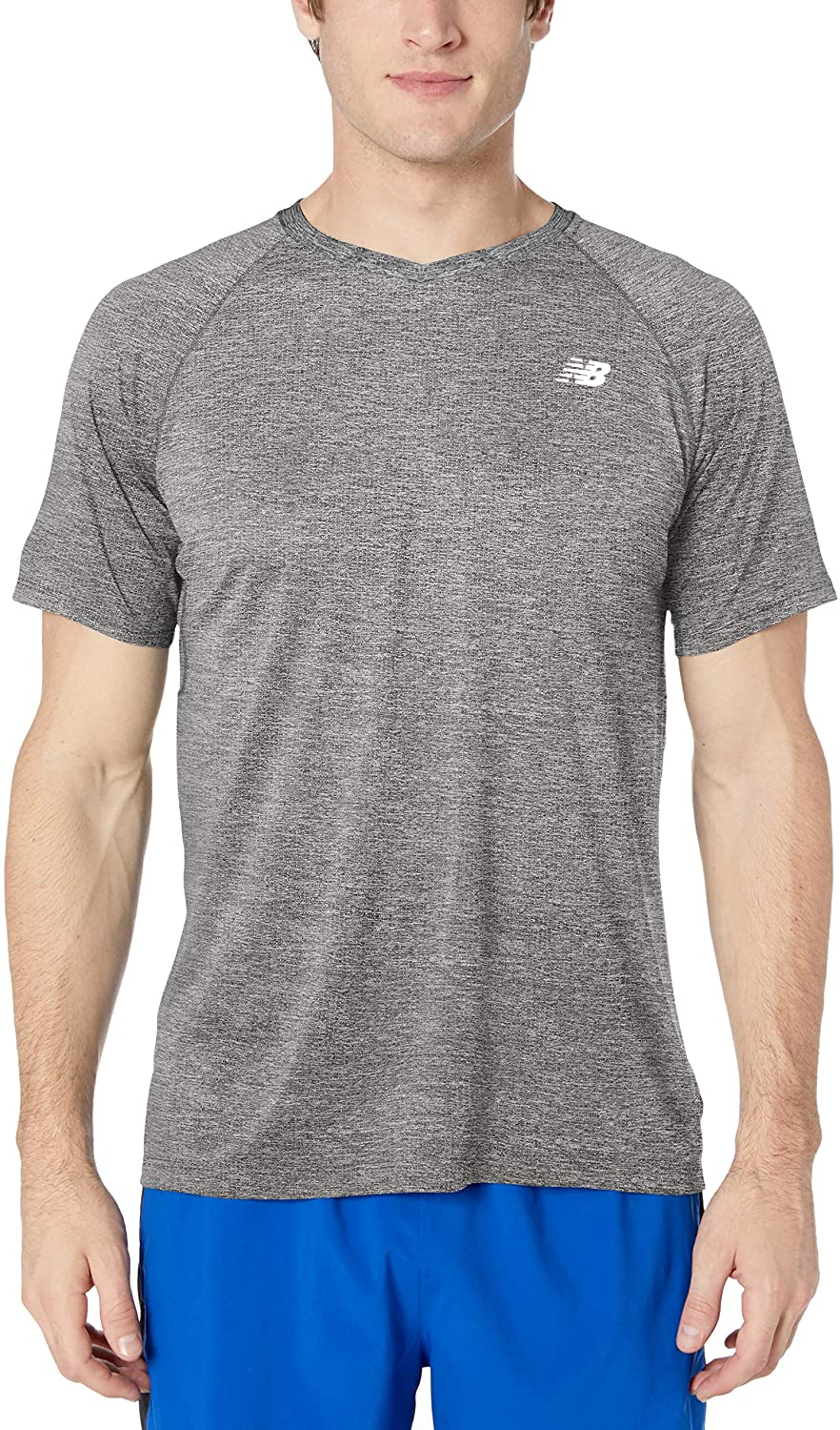 New Balance Mens Mesh NB Ice 2.0 Short Sleeve