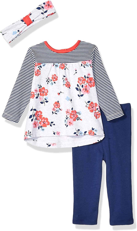 Little Me Baby Girls Tunic Set Shirt