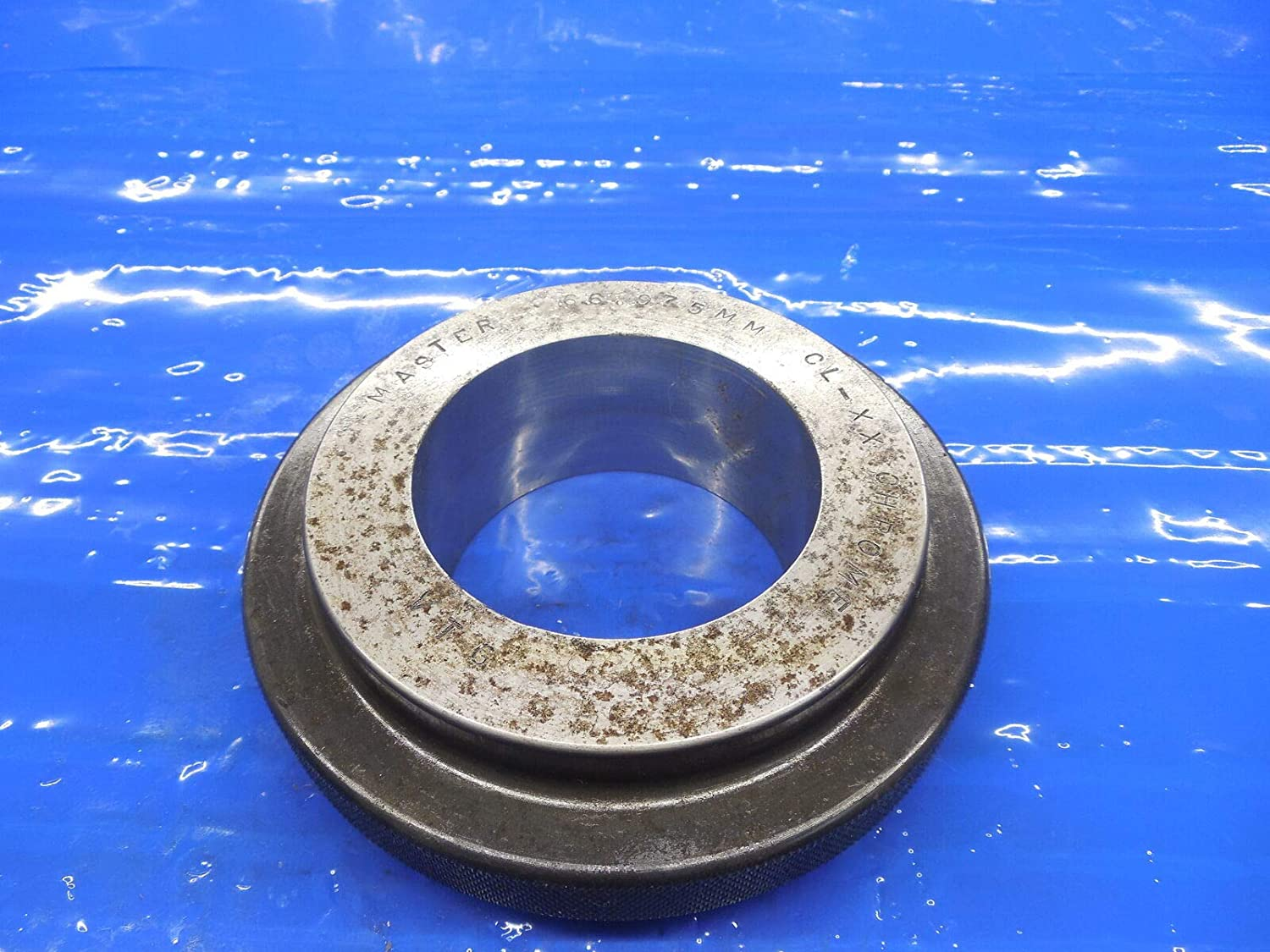 66.975 Class XX Master Plain BORE Ring GAGE 67.000 -.025 Undersize 67 mm 2.6368