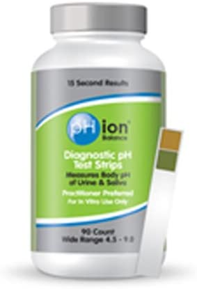 Phion Test Strips Ph Diagnostic, 90 CT (Pack of 6)