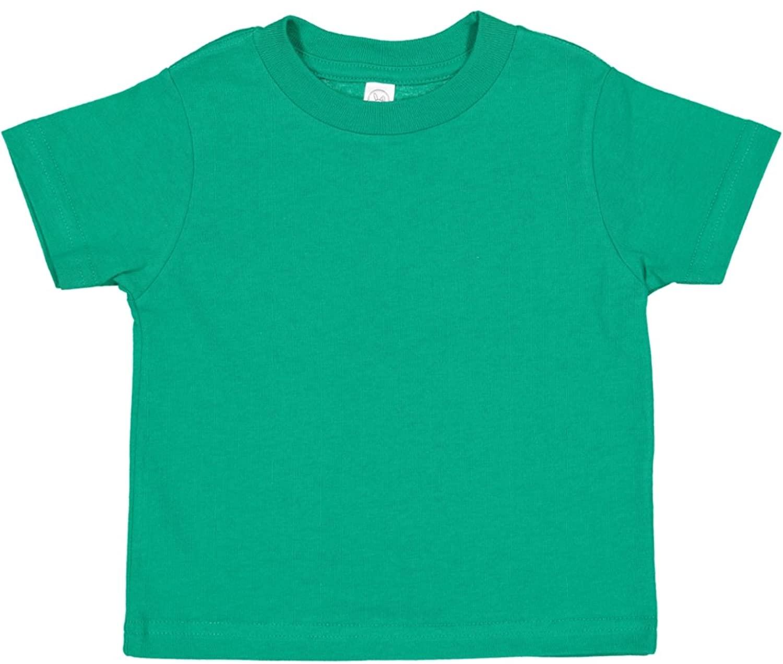 Rabbit Skins Infant 100% Cotton Jersey Short Sleeve Tee (Kelly, 12 Months)