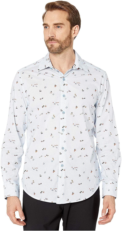 Robert Graham Men's Omakese L/S Woven Shirt
