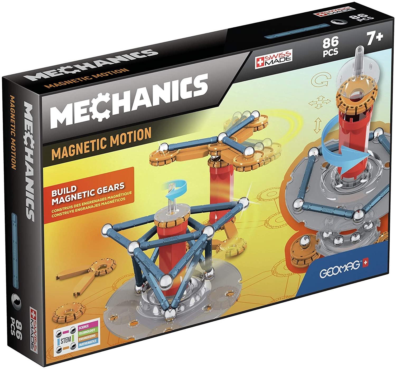 Geomag 761 Mechanics Mechanics-86 pcs, Mixed