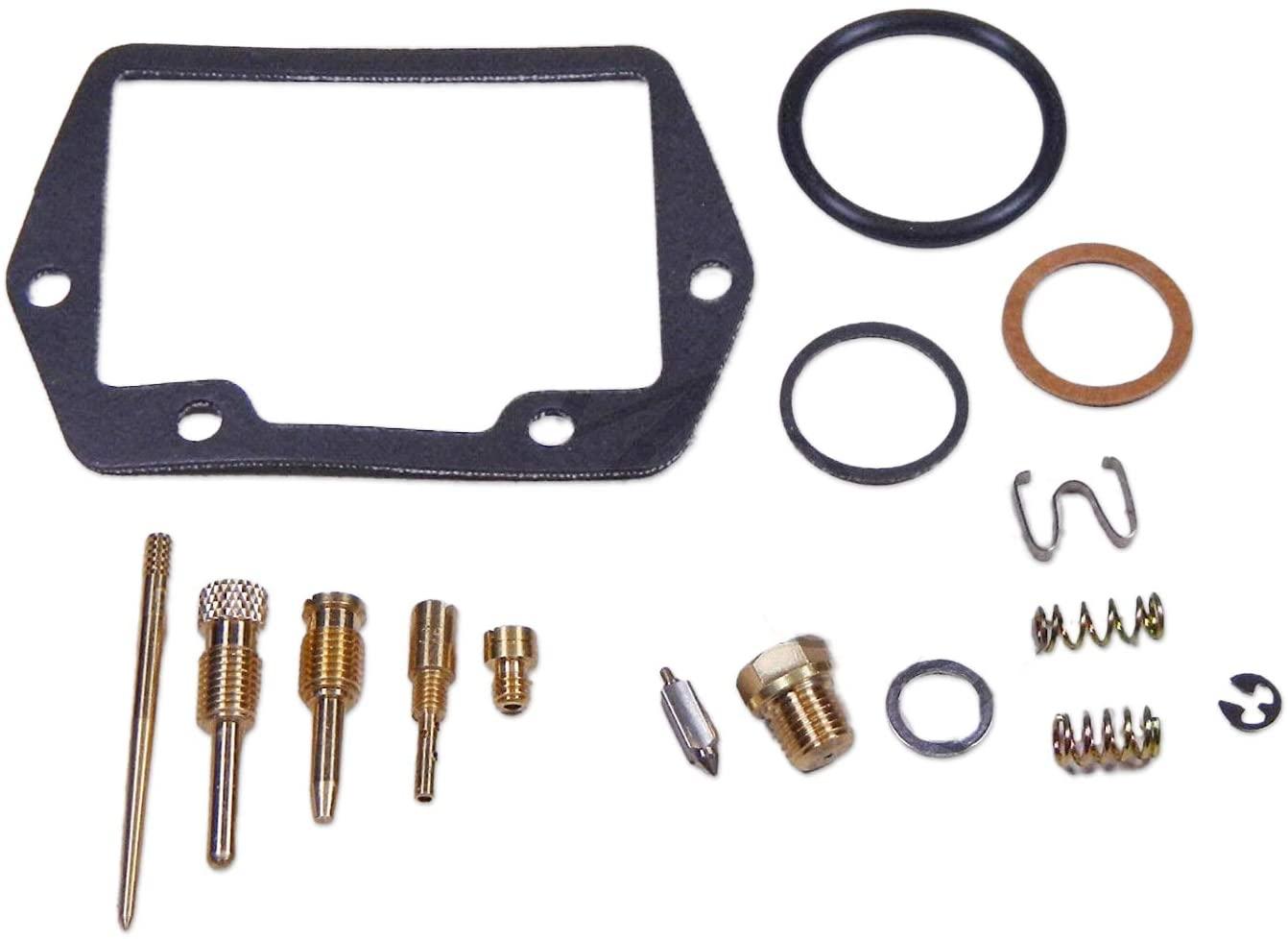 RW 0201-184 Carburetor Rebuild Repair Parts Kit Compatible with Honda