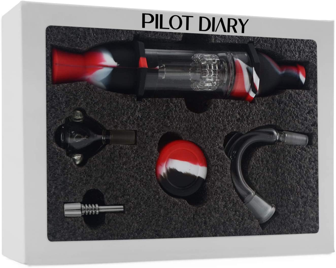 PILOTDIARY Silicone Honey Straw Water Filtering 8.3