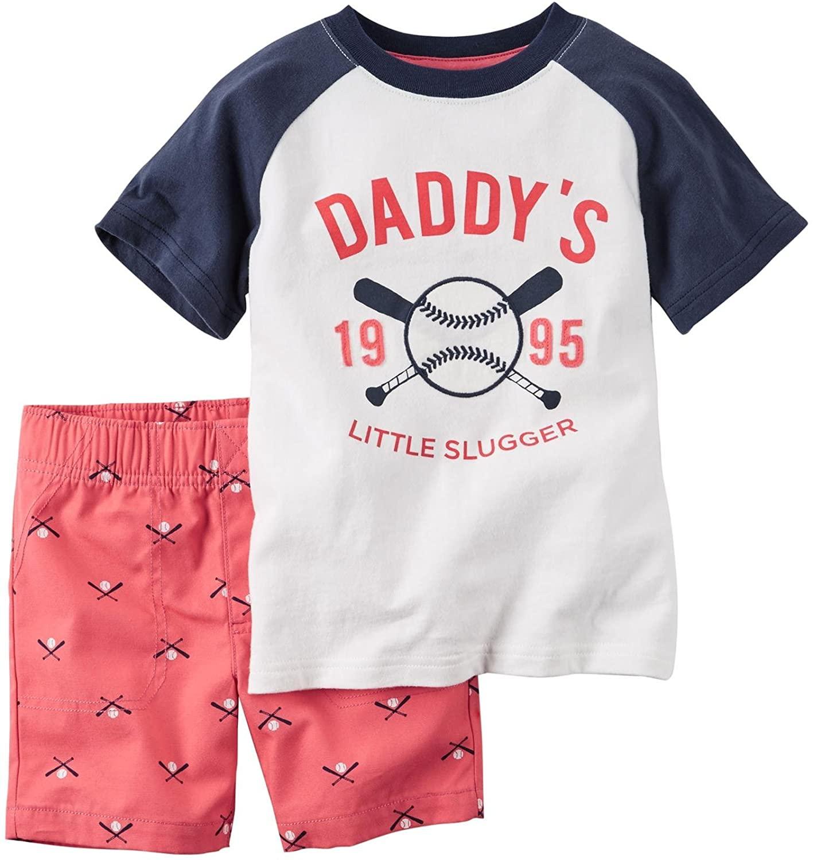 Carter's Baby Boys' 2 Pc Playwear Sets 229g132