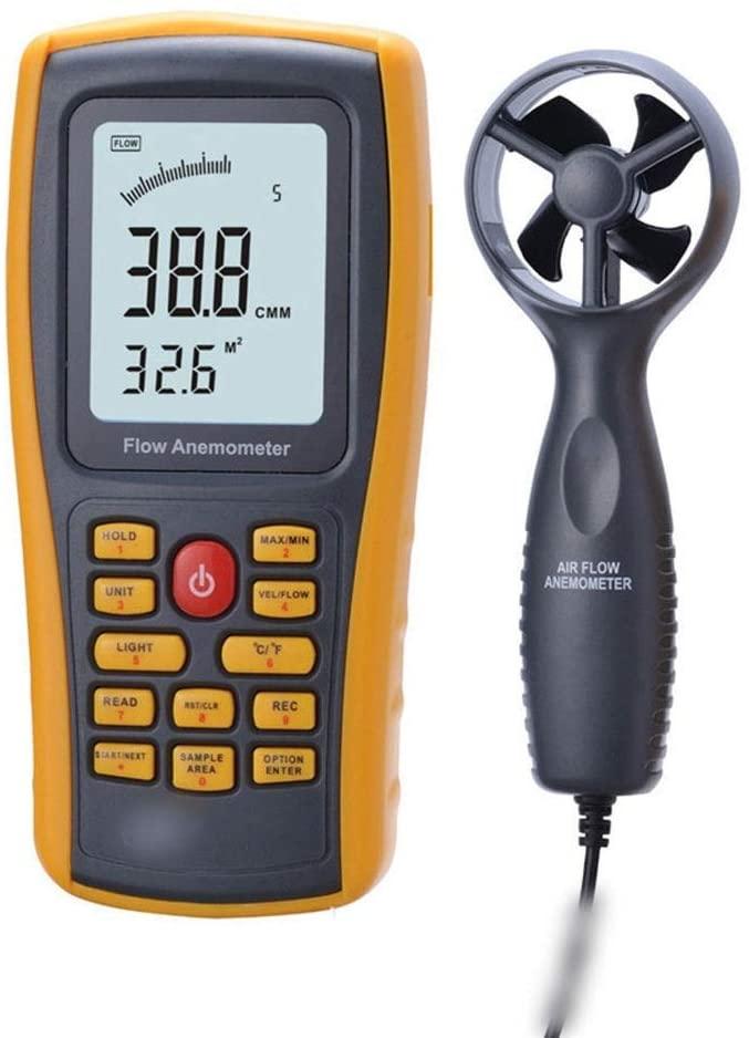 Luckya Digital Anemometer Air Volume Meter Digital Anemometer Air Volume Meter Wind Meter Wind Meter