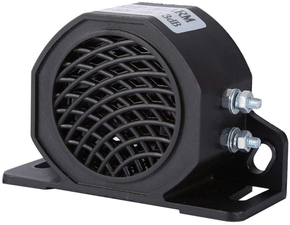 Snail Horn - 12-80V 105 DB Universal Backup Car Beeper Warning Alarm, Universal Reversing Buzzer, Car Truck Vehicle Heavy Equipment Alarm Siren Speaker