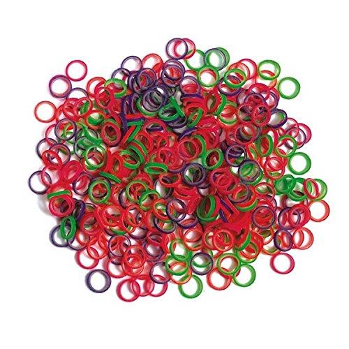 Neon Elasticks 50 bags of 100 ea