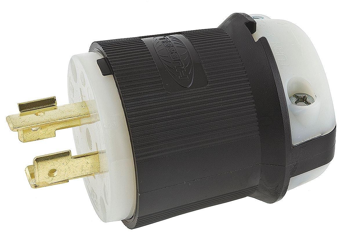Plug, 250VAC, 30A, 3P, 4W, 3PH