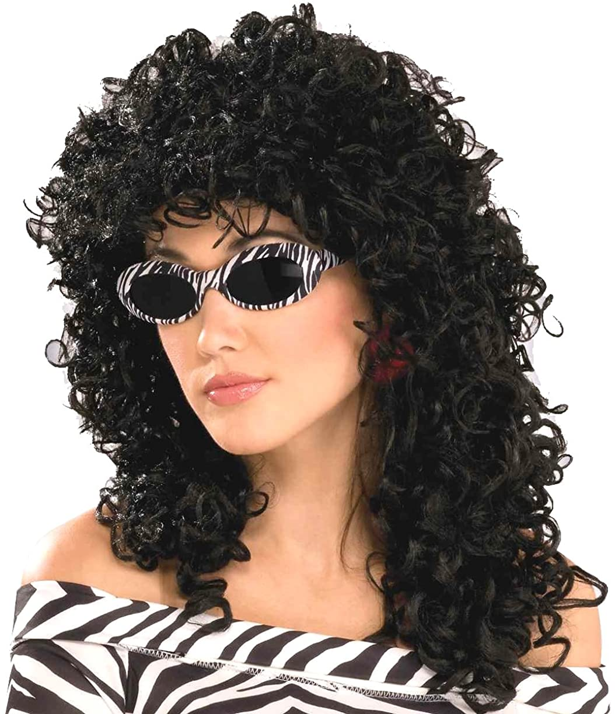 Forum Novelties Women's 80's To The Maxx Wild Curl Wig