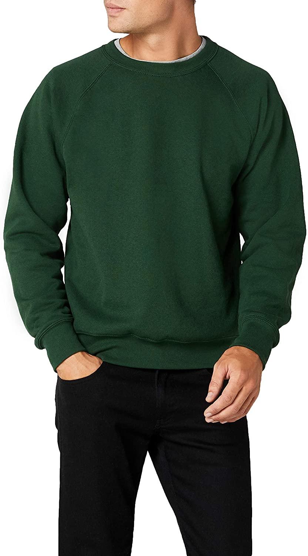 Fruit of the Loom Men's Zip Neck Sweatshirt